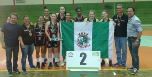 JASC 2015: Basquete Feminino garante troféu de segundo lugar