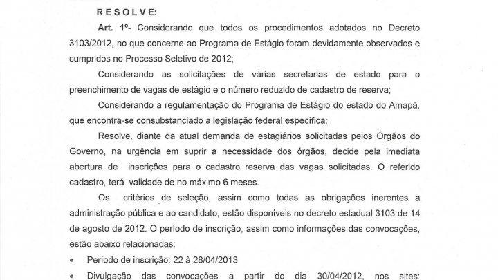 Processo Seletivo Público nº 002/2015