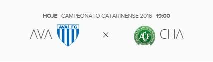 Avaí e Chapecoense duelam pela liderança do Catarinense
