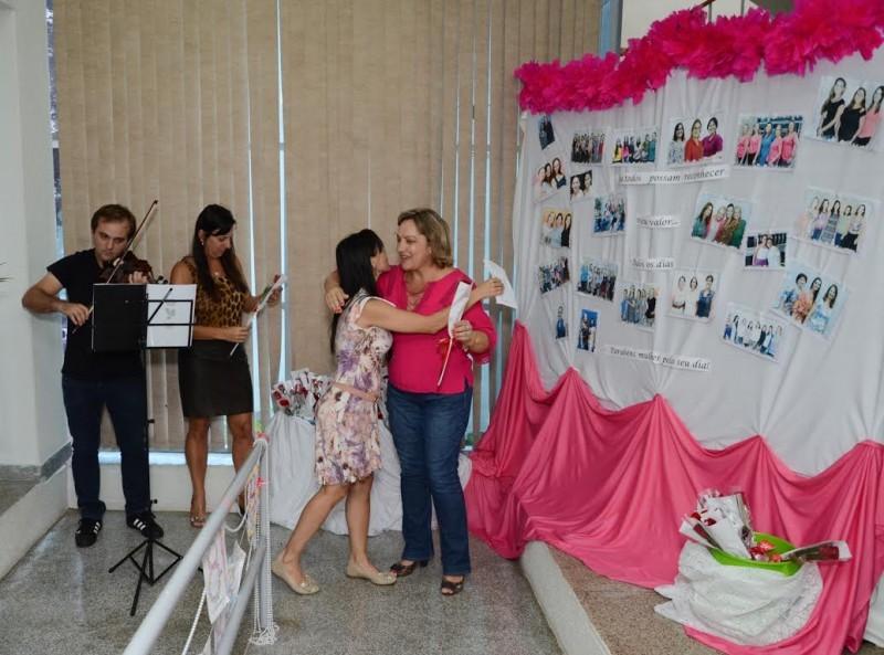 Reconhecimento: Homenagem pelo Dia da Mulher