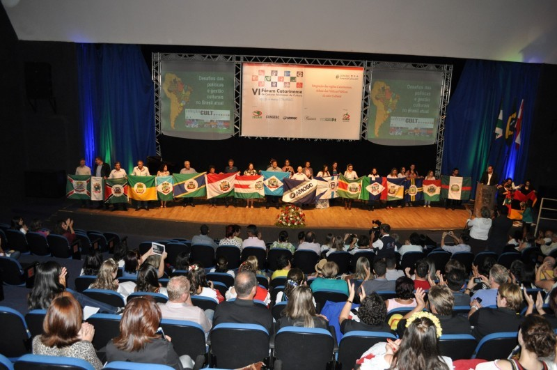 Encerra o VI Fórum Catarinense de Gestores Municipais de Cultura