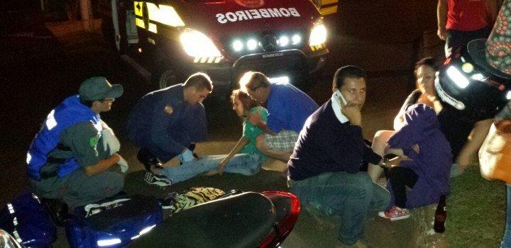 Homem com mandado de prisão em aberto bate em motocicleta e é preso no Maria Goretti