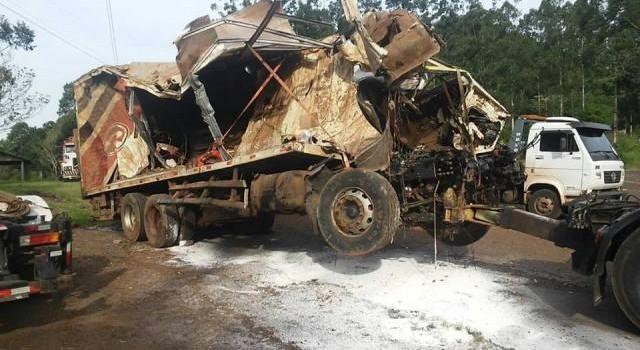 Concluído laudo do acidente do caminhão que caiu no Rio Irani