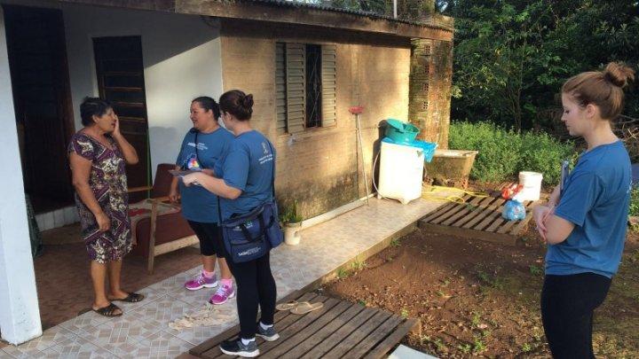 Mutirões contra a dengue e de atenção à saúde da mulher movimentam o sábado em Chapecó