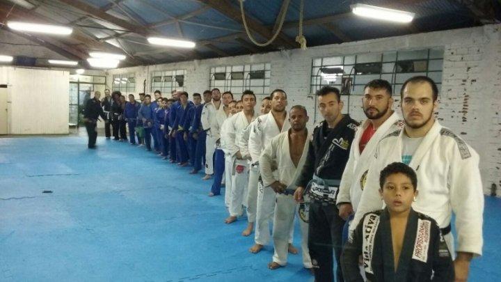 Judô e Jiu-Jitsu realizam treino conjunto