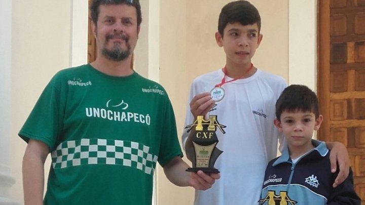 Xadrez: Chapecoense é vice-campeão estadual