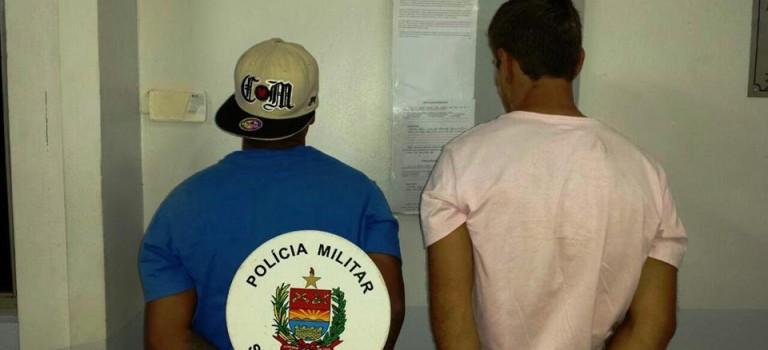 Polícia prende dois suspeitos de tráfico de crack no Pinheirinho
