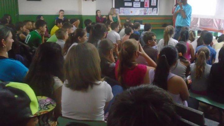 Projeto desperta o interesse dos alunos pela escola