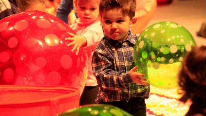 Teatro para bebês integrou a programação do Festival de Teatro