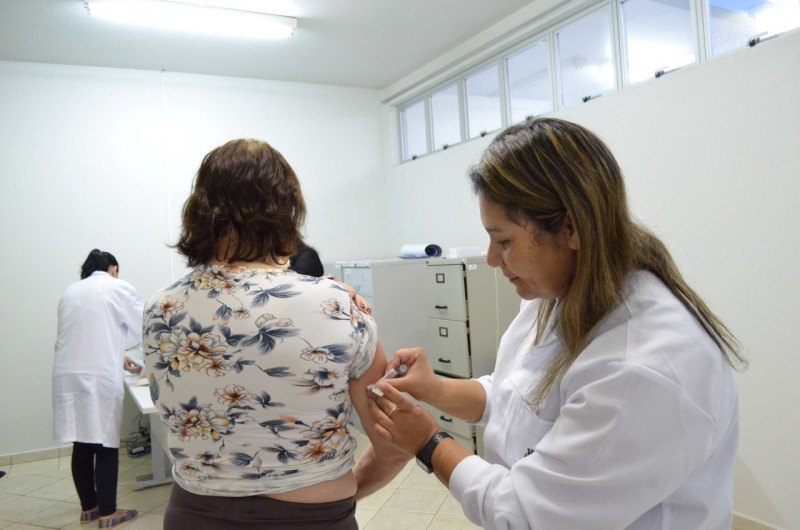 Campanha de Vacina: metade da meta alcançada