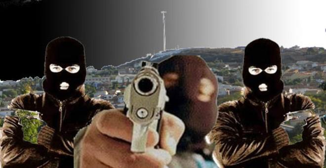 Bandidos assaltam propriedade em Novo Horizonte