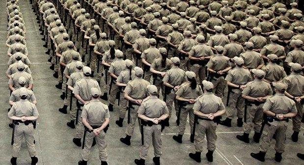 Governo do Estado convoca 711 aprovados em concurso da Polícia Militar