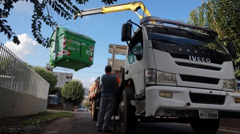 Chapecó amplia a área de abrangência da Coleta de Lixo Automatizada