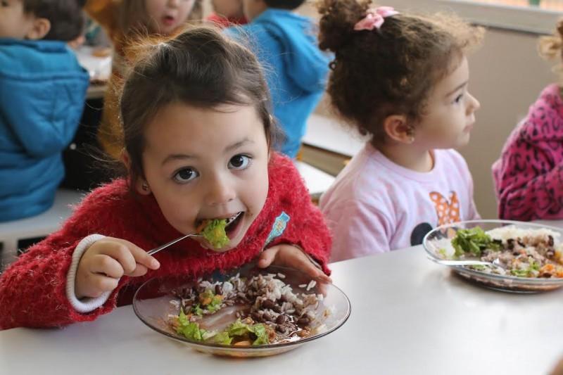 Dia do alimento orgânico reúne alunos de produtores familiares