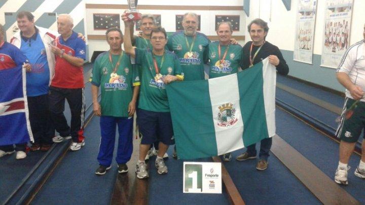 JASTI: Bolão Masculino comemora 1º lugar