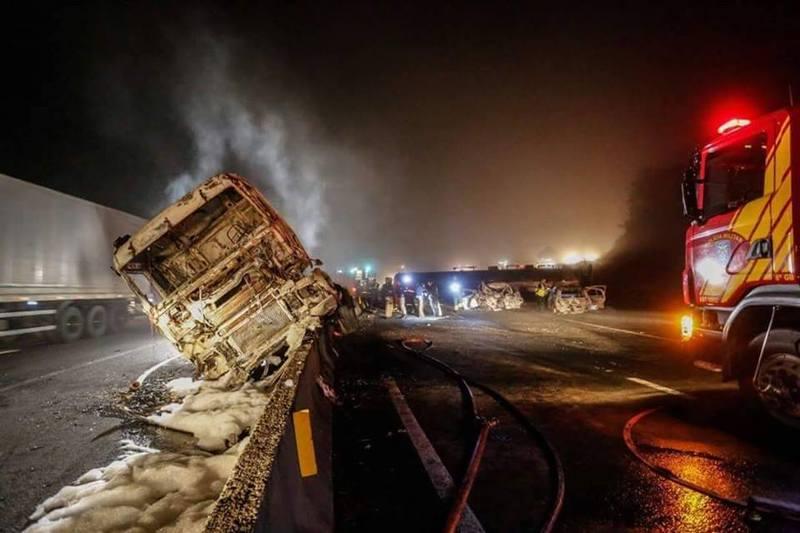 Exclusivo: carreta que causou tragédia com três mortes no Paraná é de Concórdia