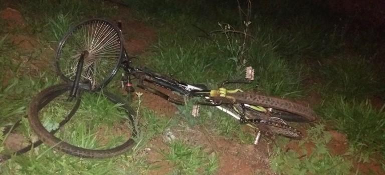 Ciclista morre atropelado na 282 em Pinhalzinho