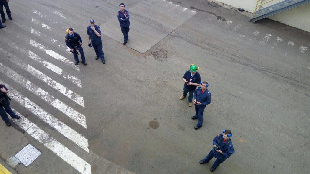 Bombeiros Militar realiza treinamento de resgate industrial em Seara