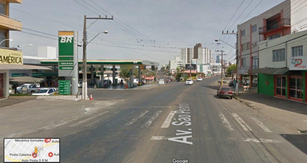Posto de Combustíveis é assaltado em Chapecó