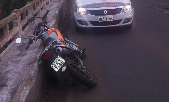 Homem morre após colidir em mureta de ponte e cair no Rio Uruguai