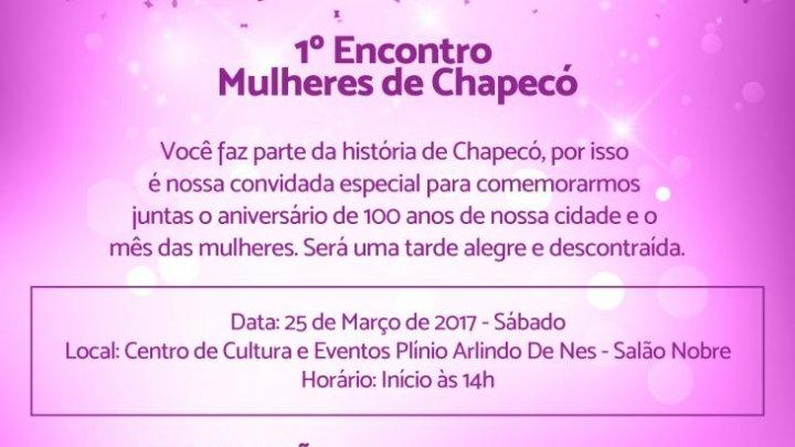 Dia da Mulher: programação especial neste sábado em Chapecó