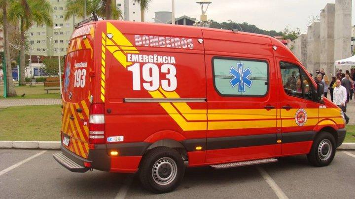 Trabalhador cai de prédio na avenida São Pedro