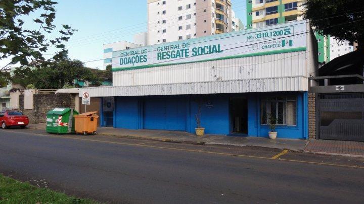 Resgate Social e Central de Doações em novo endereço