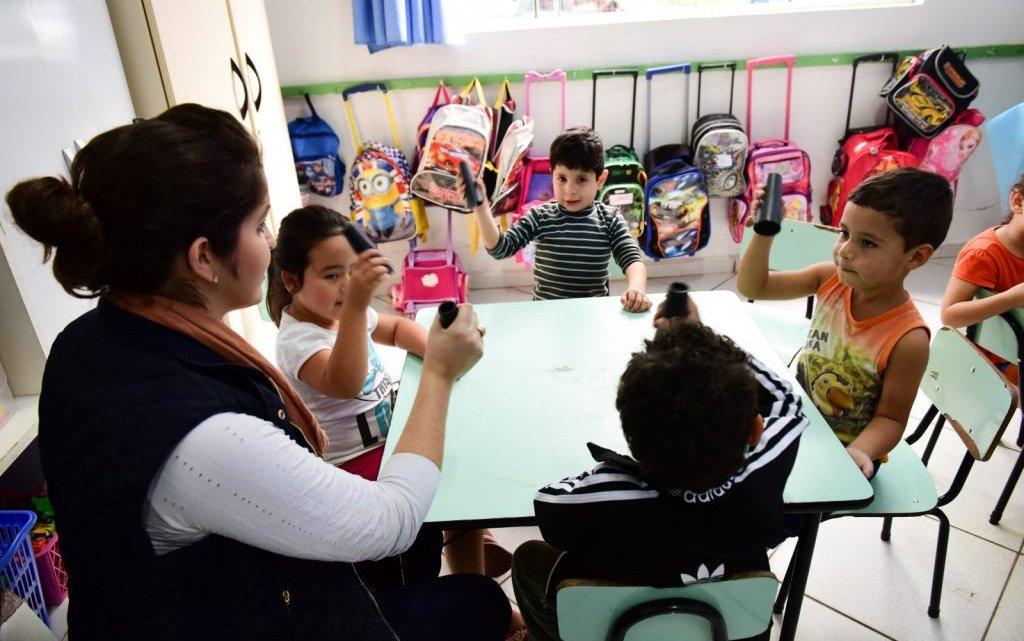 CEIM Eldorado movimenta Pré-Escolar com o Projeto Brincadeiras Cantadas
