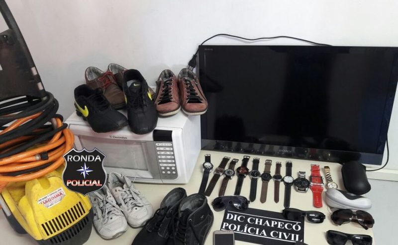 Polícia esclarece autoria de diversos assaltos praticados na região