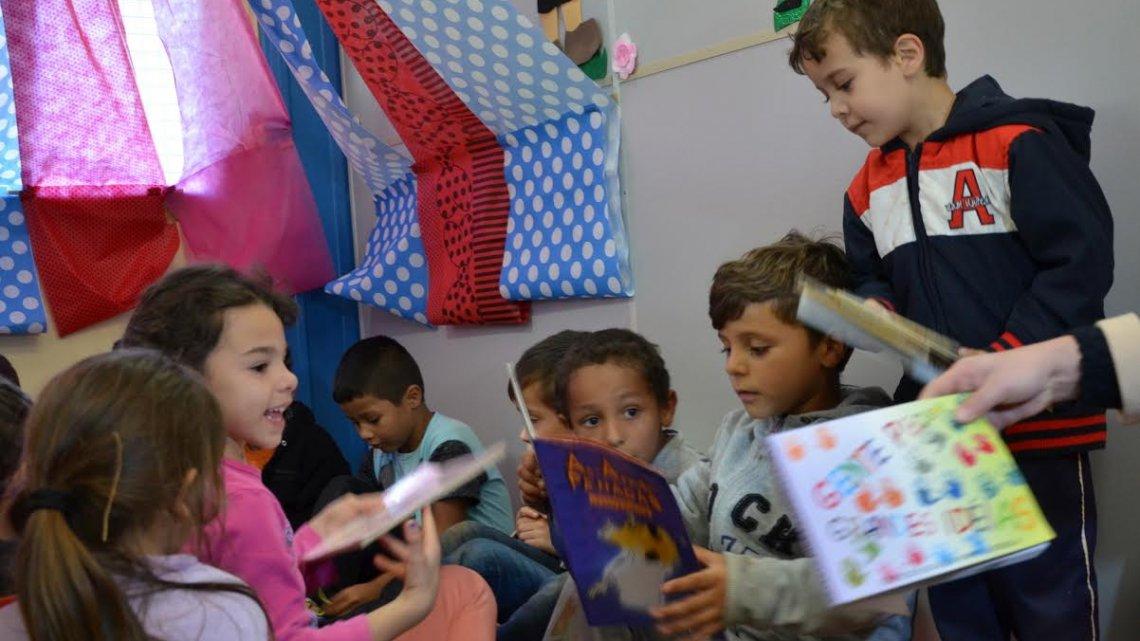 Projeto estimula o gosto pelos livros