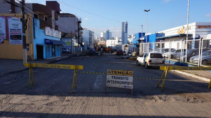Obras do Recape alteram o trânsito em Chapecó