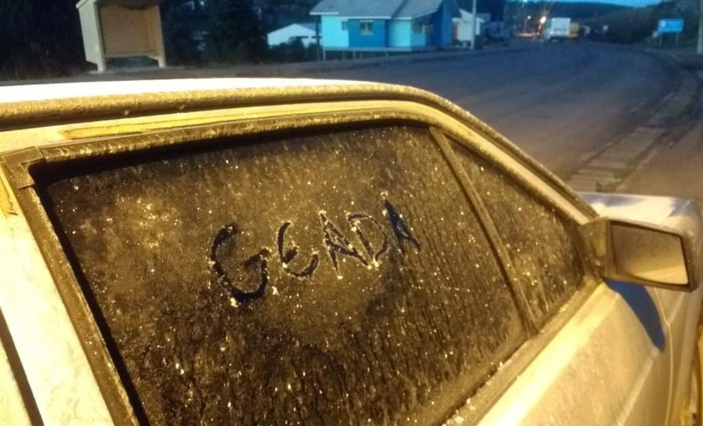 Véspera do início oficial do inverno tem geada e temperaturas abaixo de 0ºC