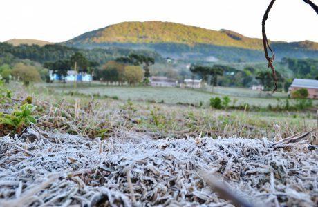 Geada na região e neve na Serra Catarinense a partir da sexta-feira, dia 9