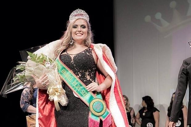 Catarinense é eleita Miss Brasil Plus Size