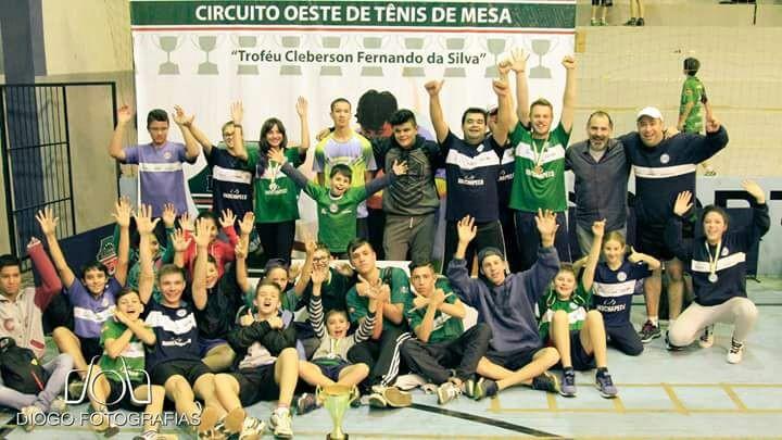 Chapecó conquista a Segunda etapa da Liga Oeste de Tênis de Mesa