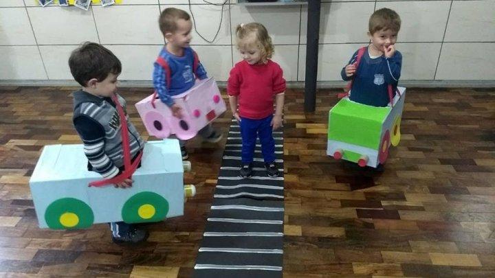Projeto trabalha o trânsito consciente desde a infância