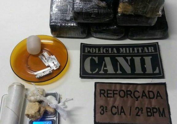 Chapecó – Policia Militar QUEBRA MAIS UM PONTO DE TRÁFICO