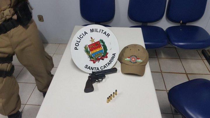 Chapecó – Exclusivo pelotão de radio patrulha retira mais uma arma de fogo de circulação
