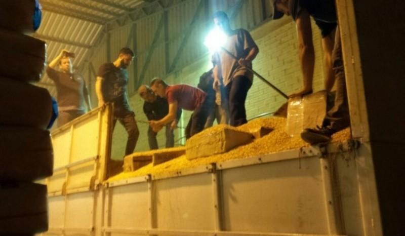 SÃO LOURENÇO DO OESTE – Três pessoas são presas com mais de uma tonelada de maconha