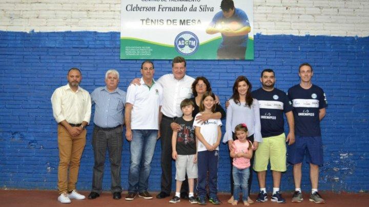 Final de semana será do Tênis de Mesa em Chapecó