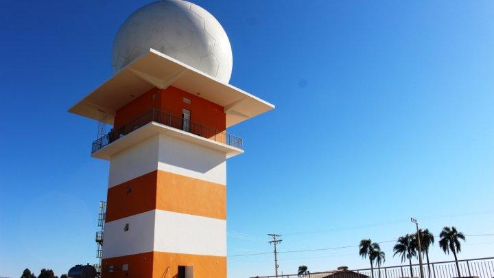 Radar Meteorológico do Oeste será inaugurado na semana do aniversário de Chapecó
