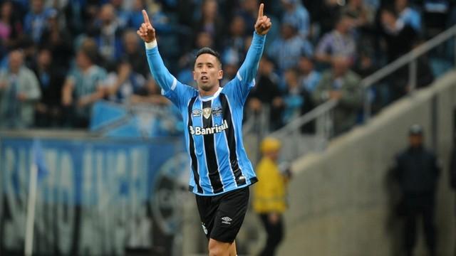 Grêmio vence o Cruzeiro em primeiro jogo da semifinal da Copa do Brasil