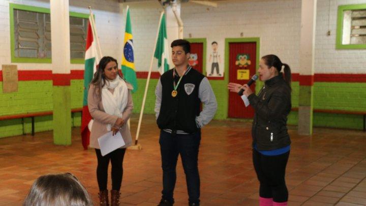Aluno da Rede Municipal representa Santa Catarina nos jogos escolares
