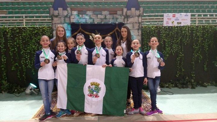 Ginástica de Chapecó participa do Campeonato Estadual Infantil