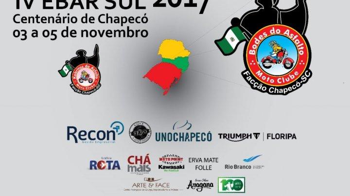 MOTOCICLISTAS DO SUL DO BRASIL FAZEM POEIRA EM CHAPECÓ
