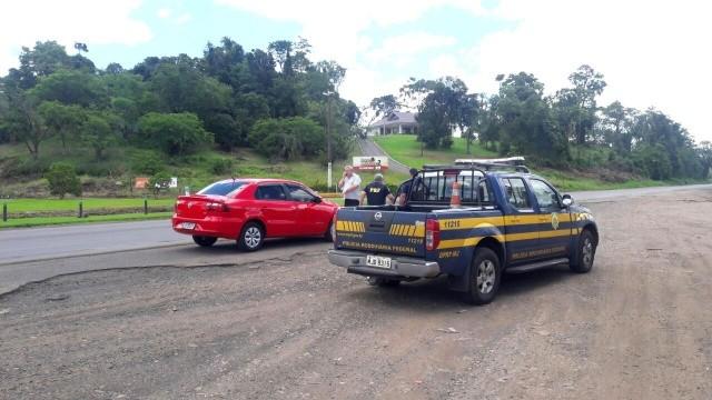 Atropelamento deixa homem gravemente ferido na BR 282