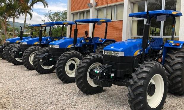 Secretaria da Agricultura investe R$ 20,3 milhões na compra de equipamentos em 2017