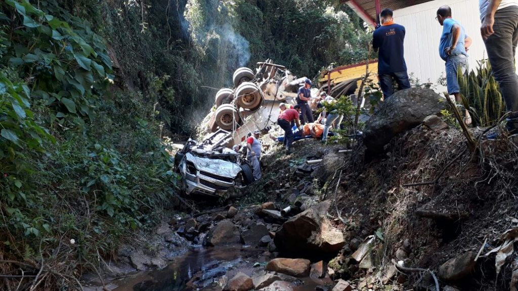 Grave acidente registrado em Seara na tarde desta terça feira