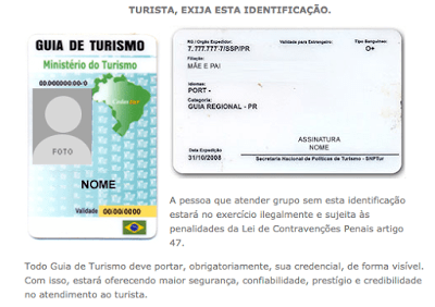 Guias de Turismo no Brasil