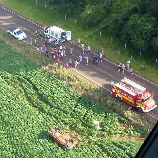 Mulher morre em acidente em São Domingos
